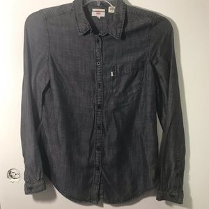 Levi's Vintage Long Sleeve Tailored Fit Gray Shirt